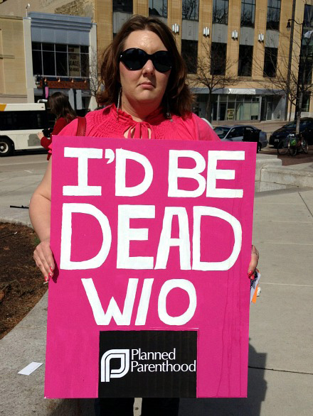 And Millions Are Dead Because Of Planned Parenthood!