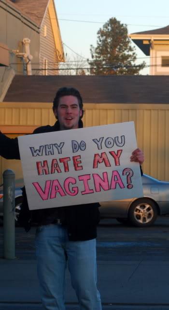 Dude, Where's My Vagina?