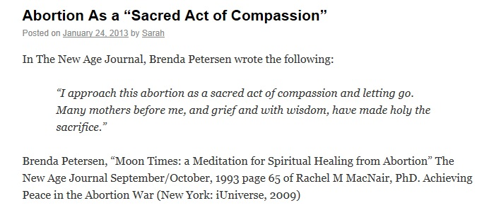 A Sacred Act Of Compassion