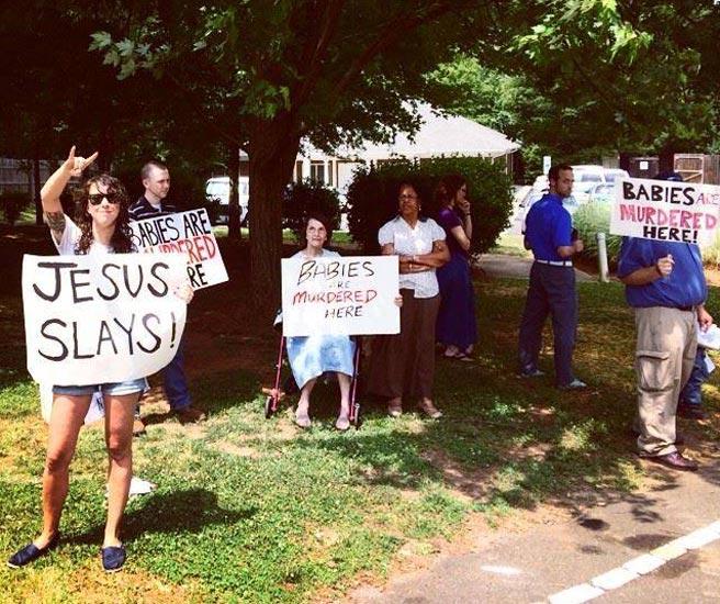 Jesus Slays!