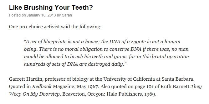 Like Brushing Your Teeth?